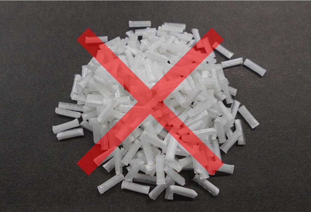 プラスチック繊維