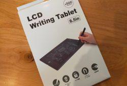 【3 COINS】電子メモパッド ~LCD Writing Tablet~ |ペーパーレスメモ帳|子供のお絵描き帖にも!