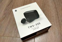 【ワイヤレスイヤホン】 JPRiDE TWS-335 Bluetooth イヤホン  価格や使い心地、音質についてレビュー